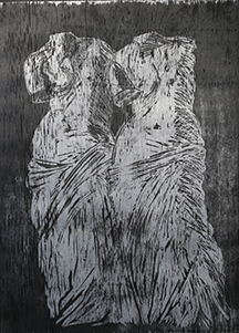 DOUBLE VENUS WOODCUT Ⅱ