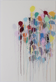 Color Splat Edge (white) 2017