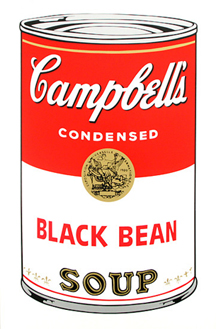 Soup Can (BLACK BEAN)