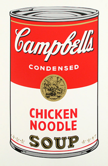Soup Can (CHICKEN NOODLE)