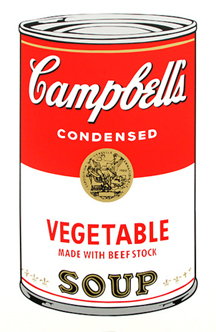 Soup Can (VEGETABLE)