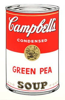 Soup Can (GREEN PEA)