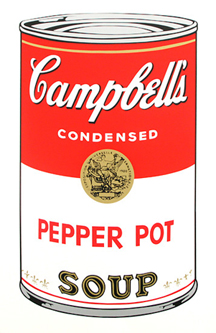 Soup Can (PEPPER POT)