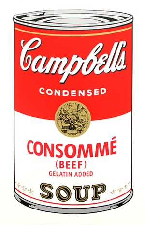 Soup Can (CONSOMME)