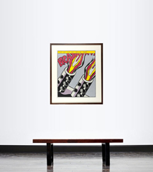 ASI OPENED FIRE POSTER TRIPTYCH (CORLET APP.5)